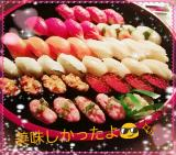 お寿司パーティ(*ˊ˘ˋ*)♪
